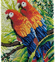 Two Parrots Rug Latch Hooking Kit (61x81)