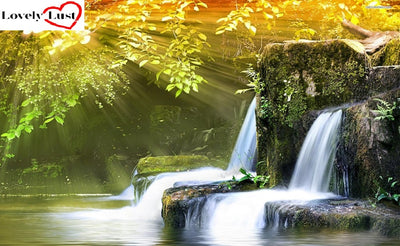 Waterfalls 5D Square Diamond Painting Kit