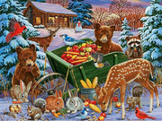Winter Animals Paint By Numbers