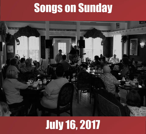 Songs on Sunday  - July 16, 2017: Special Guest - Lucy MacNeil