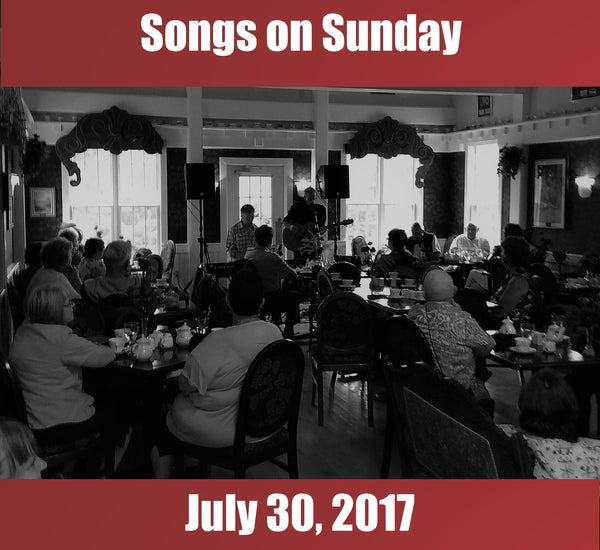 Songs on Sunday  - July 30, 2017: Special Guest - Laura Smith