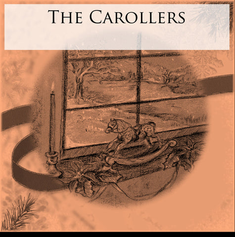 The Carollers - Digital Print