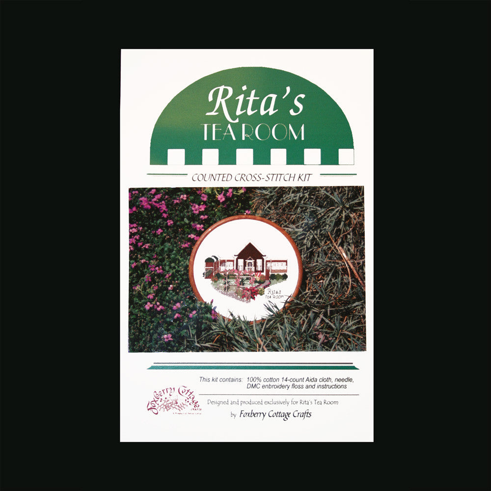 Rita's Tea Room Counted Cross-Stitch Kit