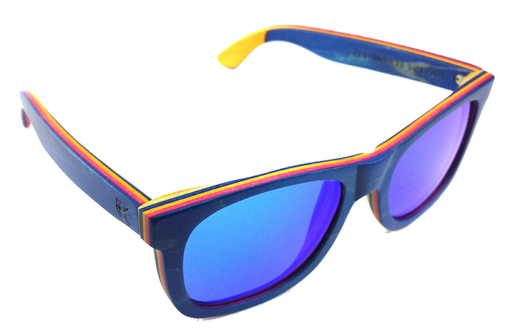LPG Apparel Co. CABO Wood Polarized Sunglasses - Lobo Performance Gear