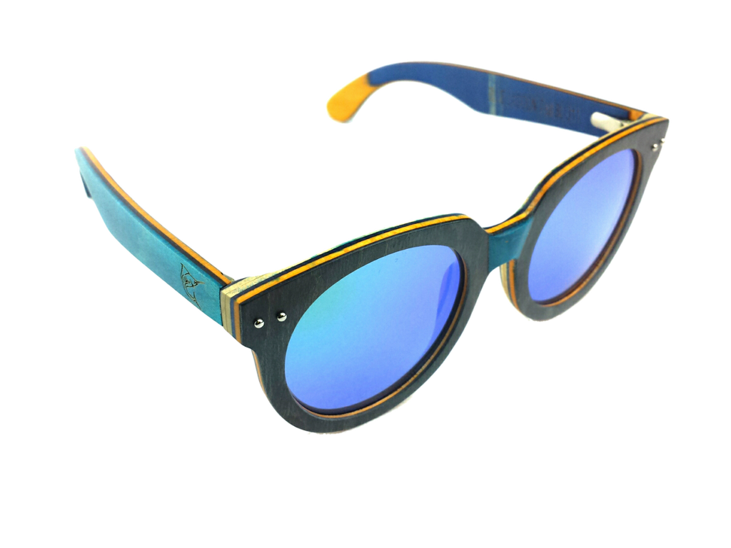LPG Apparel Co. Blue Lagoon Polarized Sunglasses - Lobo Performance Gear
