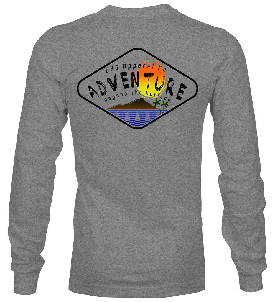 LPG Apparel Co. Diamond Adventurer Crew Neck Sweater - Lobo Performance Gear
