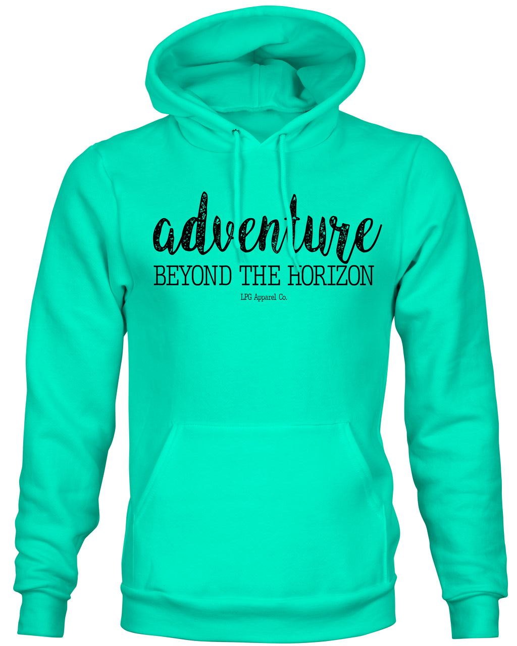 LPG Apparel Co. Adventure Mid-weight Hooded Pullover Unisex Sweatshirt - Lobo Performance Gear