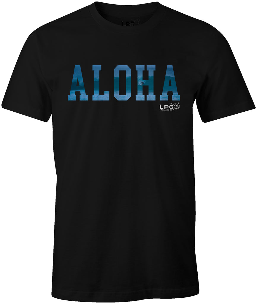 LPG Apparel Co. ALOHA Pipeline Surf T-Shirt - Lobo Performance Gear
