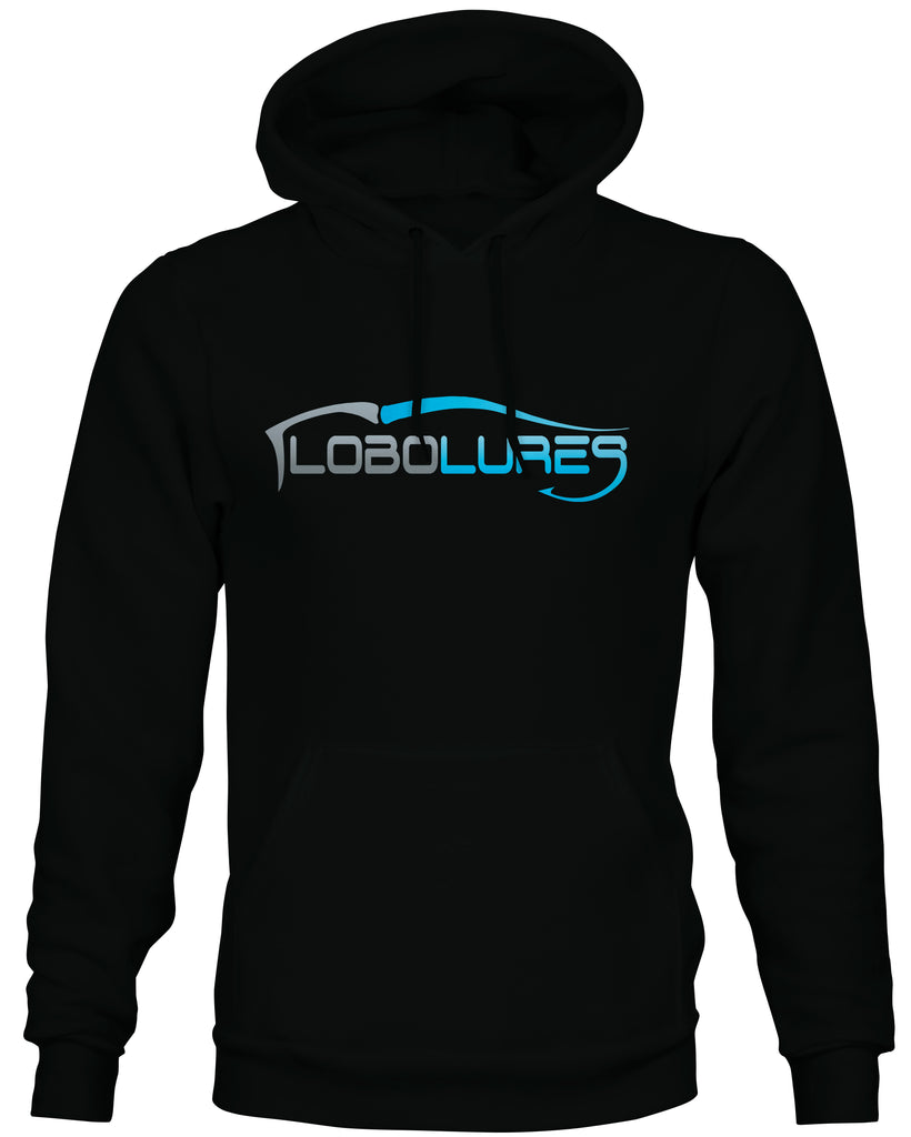 Lobo Lures Signature Logo Mid-weight Pullover Hoodie - Lobo Performance Gear