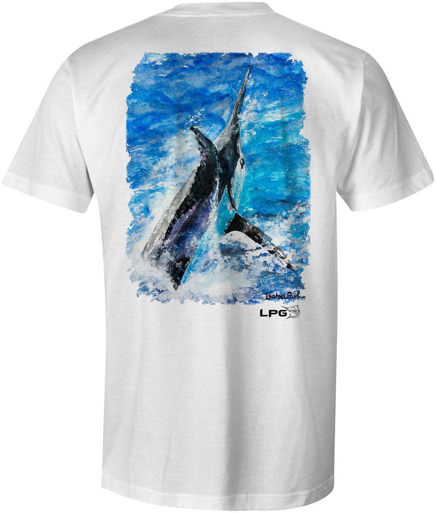 LPG Apparel Co. Grander Marlin Unisex T-Shirt - Lobo Performance Gear