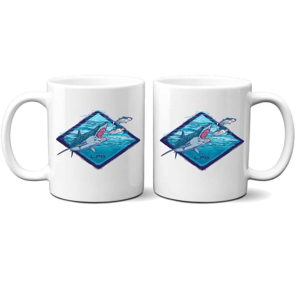 LPG Apparel Co. Northeast Mako Shark Sportfishing Mug Coffee Mug