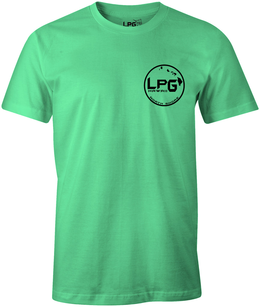 LPG Apparel Co.Hawaii North Shore Surf  T-Shirt - Lobo Performance Gear