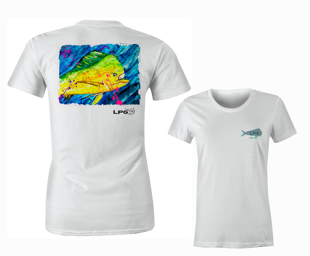 LPG Apparel Co. Mahi Vibes Womens T-Shirt - Lobo Performance Gear
