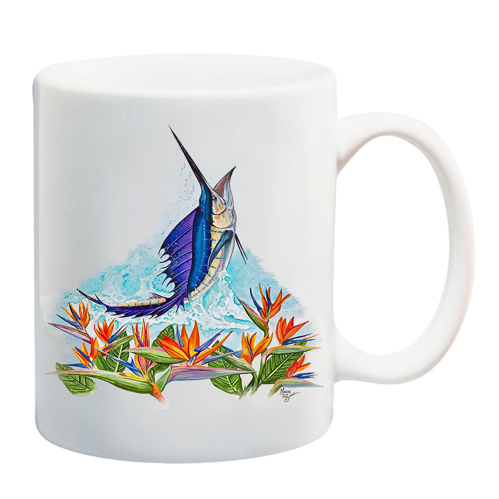 LPG Apparel Co. Paradise Sailfish 11 oz. Coffee Mug - Lobo Performance Gear