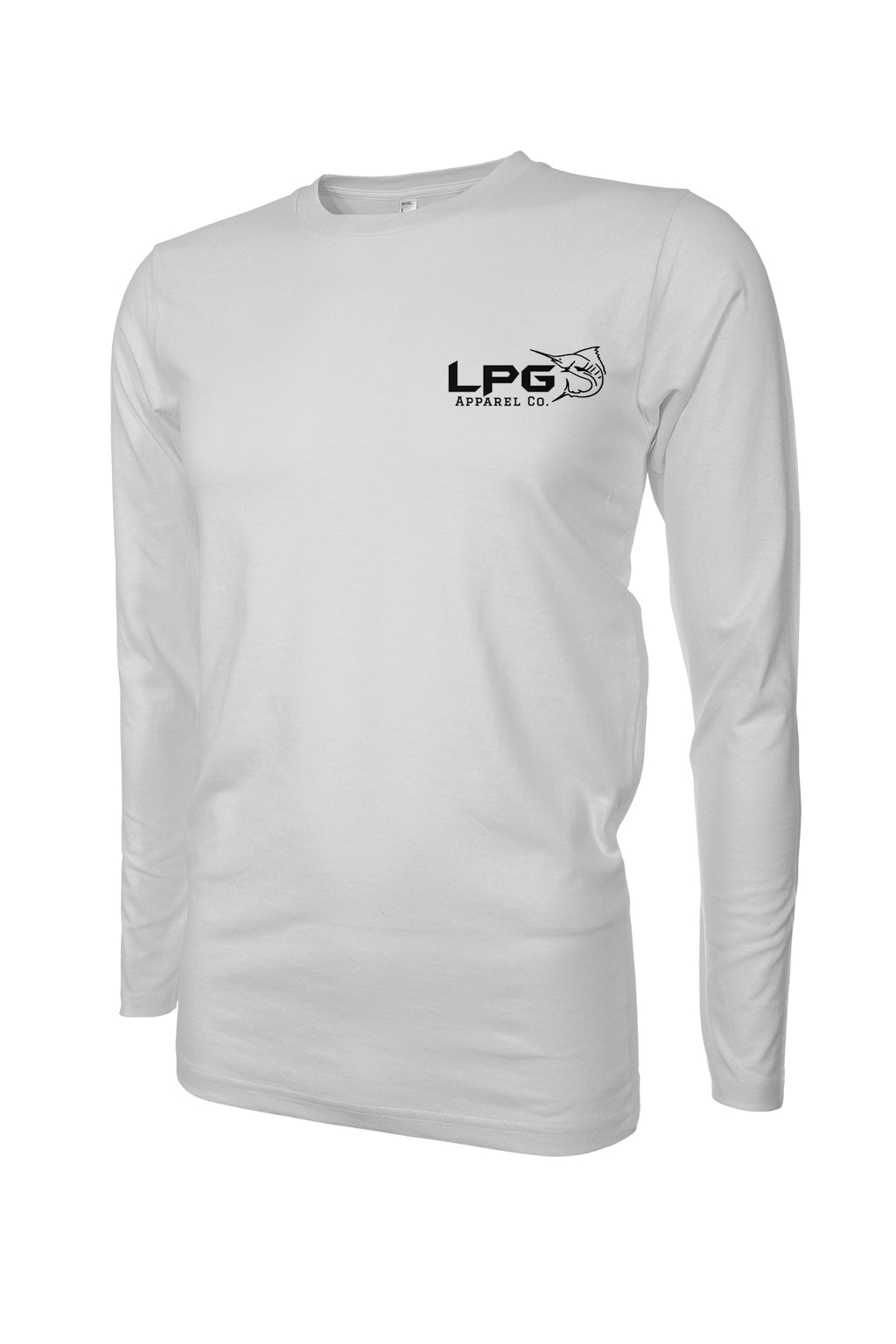 LPG Apparel Co. Mahi Tuna Marlin Mixed Bag LS Performance UPF 50+ Rashguard T-Shirt - Lobo Performance Gear