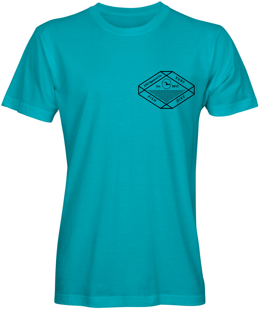 LPG Apparel Co. Surf Fish Dive T-Shirt - Lobo Performance Gear