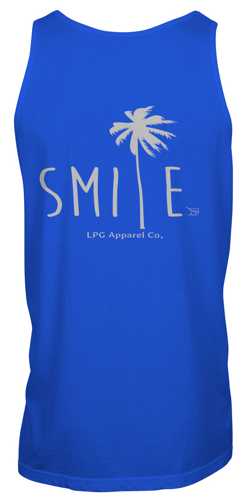 LPG Apparel Co. Smile Palm Tree Surf Unisex Tank Top - Lobo Performance Gear