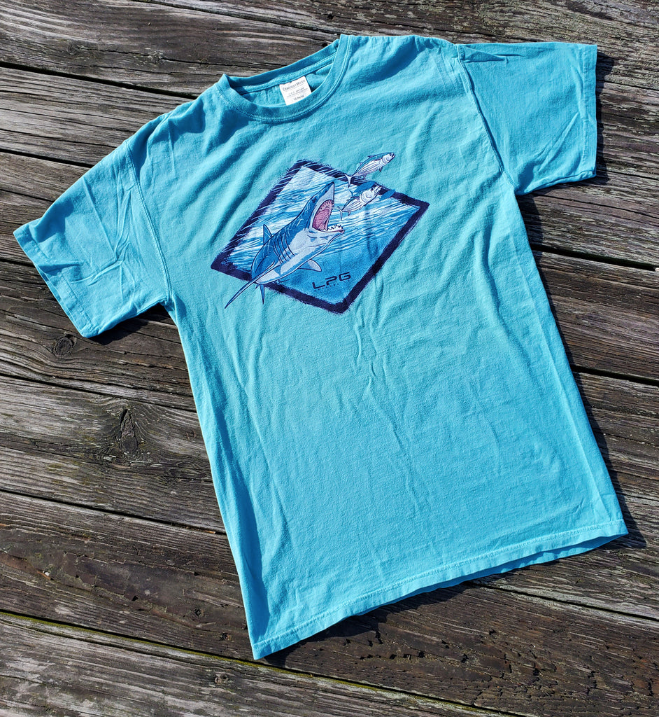 LPG Apparel Co. Mako Signature Comfort Washed T-Shirt - Lobo Performance Gear