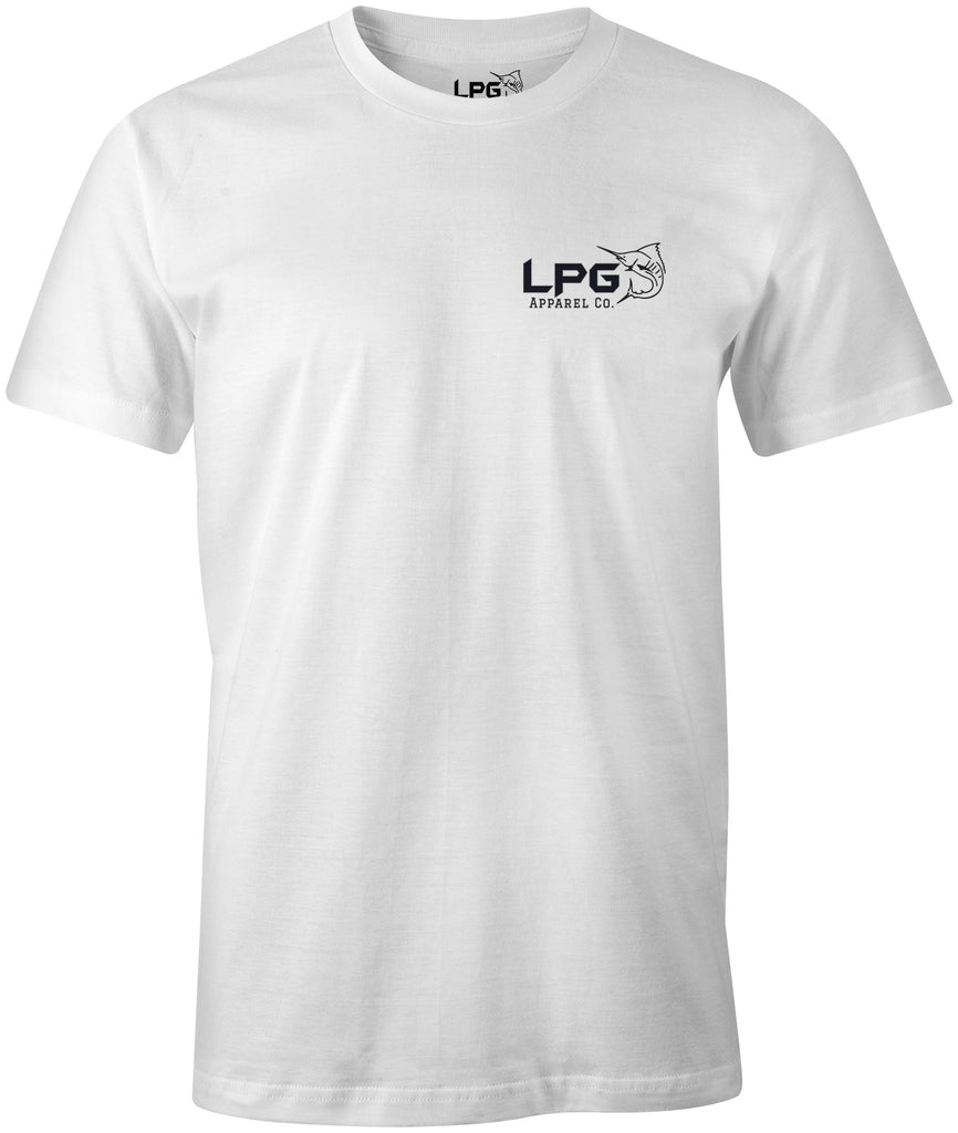 LPG Apparel Co. Americano Bass USA T-Shirt - Lobo Performance Gear