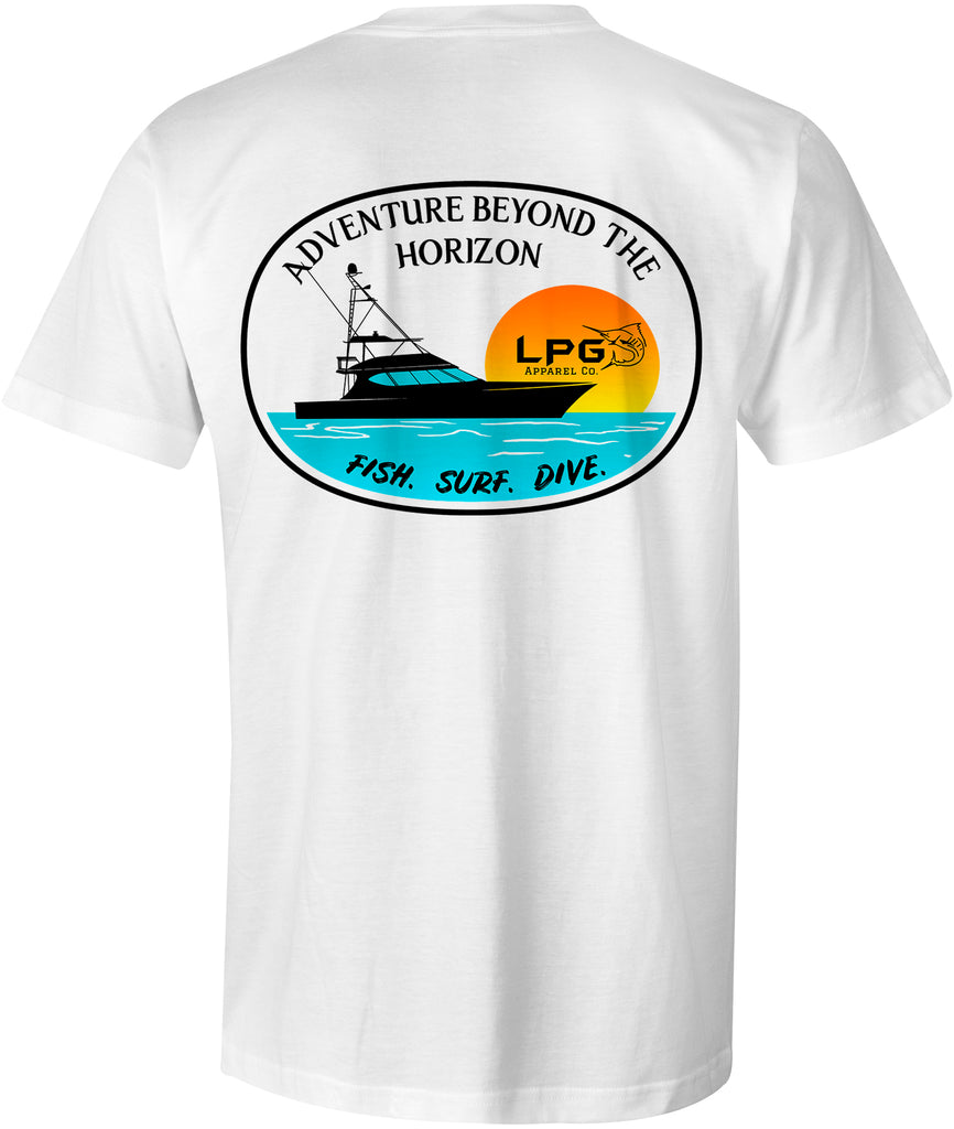 LPG Apparel Co. Big Rock Sportfish Premium Cotton T-Shirt - Lobo Performance Gear