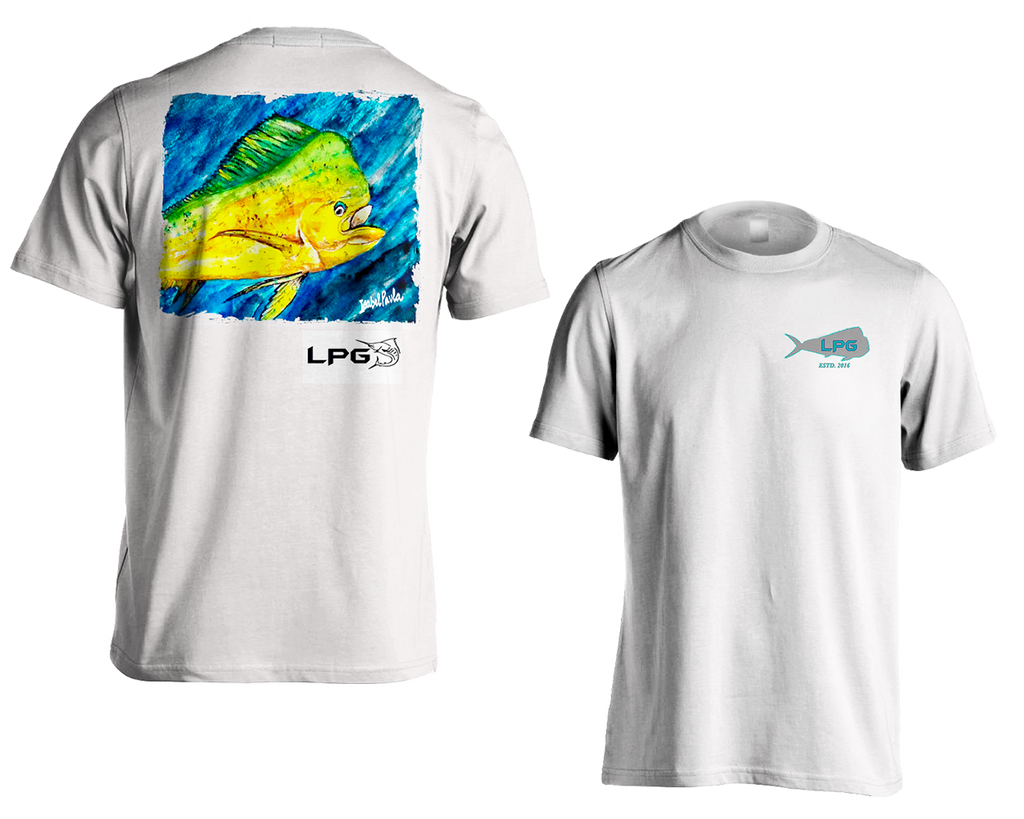 LPG Apparel Co. Mahi Vibes Mens T-Shirt - Lobo Performance Gear