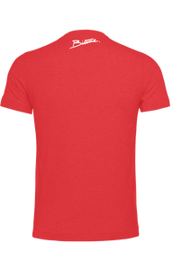 T Shirt 100 % Bitume Candy Red personnalisable.