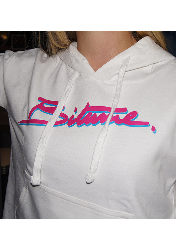 Sweat-shirt Ladies Crop 100 % Bitume SIGNATURE BIG