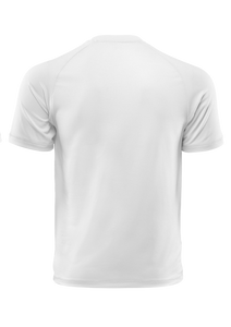 T Shirt 100 % Bitume SIGNATURE BIG blanc personnalisable.