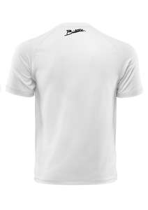 T Shirt 100 % Bitume Candy White personnalisable.