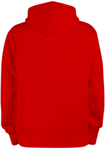 Sweat Shirt 100 % Bitume SIGNATURE BIG rouge personnalisable.