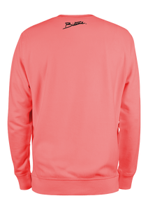 "Sweat Shirt 100 % Bitume "" Candy Pink Pastel "" personnalisable."