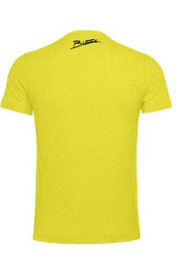 T Shirt 100 % Bitume Candy Yellow personnalisable.