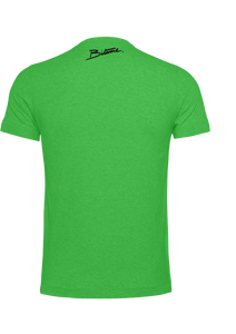 T Shirt 100 % Bitume Candy Green personnalisable.