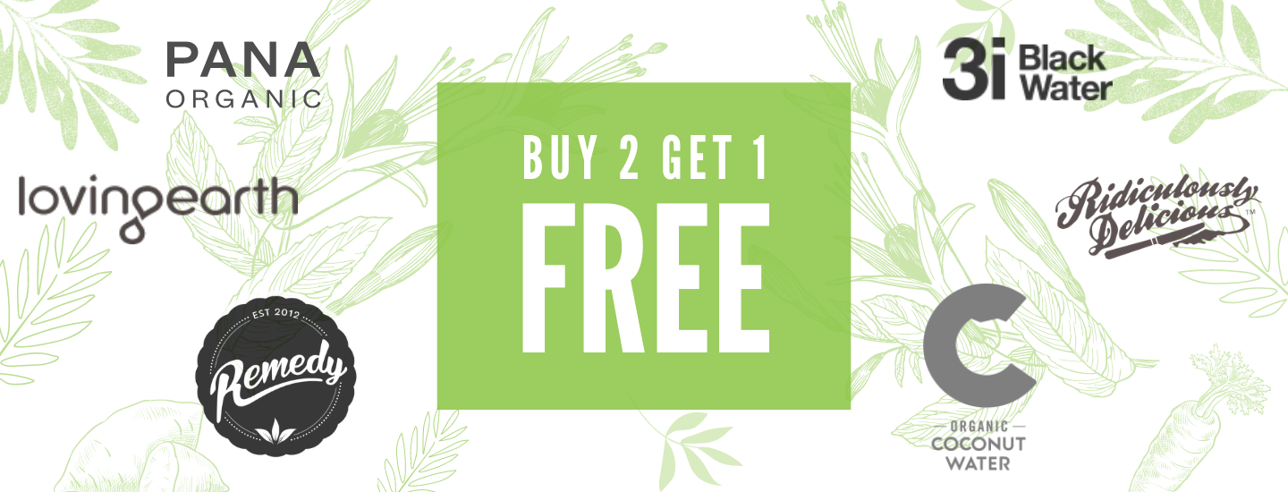 Vaganuary Sale - Buy 2 Get 1 Free