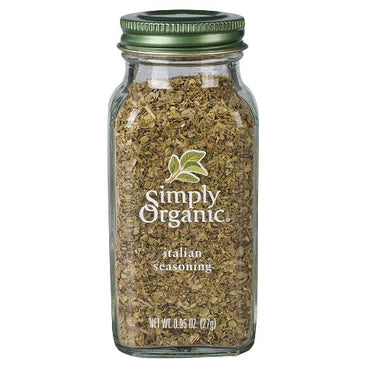 Simply Organic Italian Seasoning Large Glass  (27g)