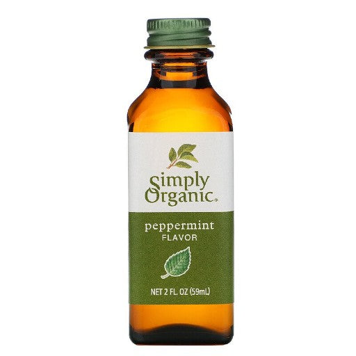 Simply Organic Peppermint Flavour (59ml)