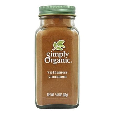 Simply Organic Vietnamese Cinnamon Large Glass (69g)