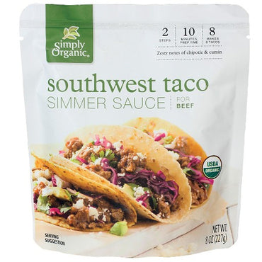 Simply Organic Southwest Taco Simmer Sauce (227g)
