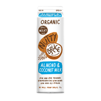 Nutty Bruce Organic Almond & Coconut Milk 1L