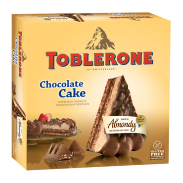Almondy Toblerone Cake 10pcs - 400g