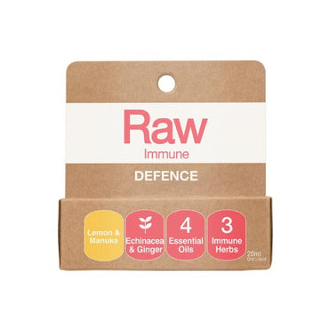 Amazonia Raw Immune Defence Lemon Manuka (20ml)