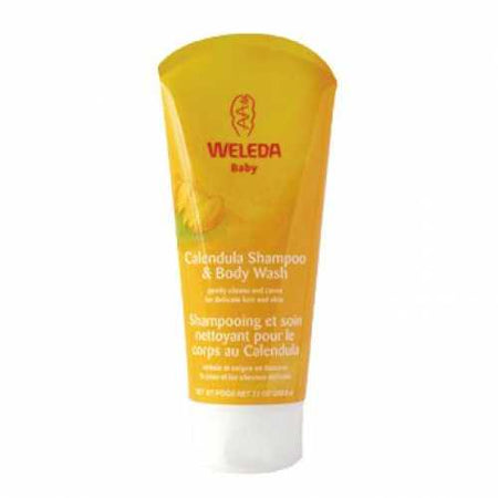 Weleda Calendula Shampoo & Body Wash Baby (200ml)
