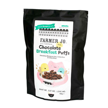 Farmer Jo - Kids Chocolate Breakfast Puffs