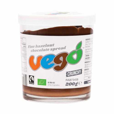 Vego Hazelnut Chocolate Spread Crunchy (200g)