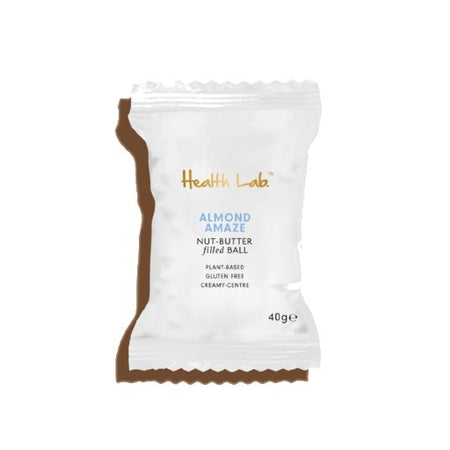Health Lab Almond Amaze Nut-Butter Filled Ball (40g)