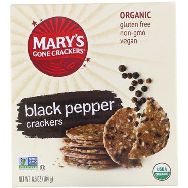 Mary's Gone Black Pepper Crackers
