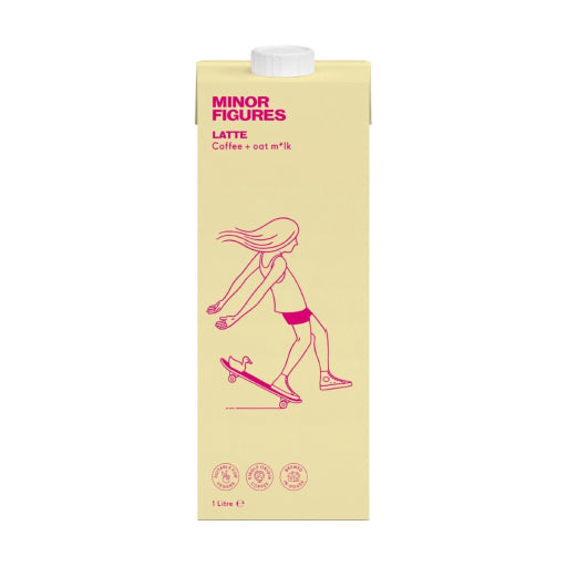 Minor Figures - Latte Oat Milk 1L