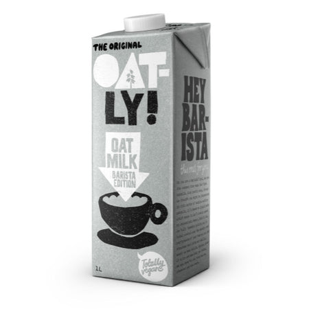 Oatly Barista Edition Oat Milk 1lt