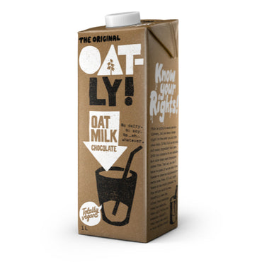 Oatly Drink Chocolate Oat Milk 1lt