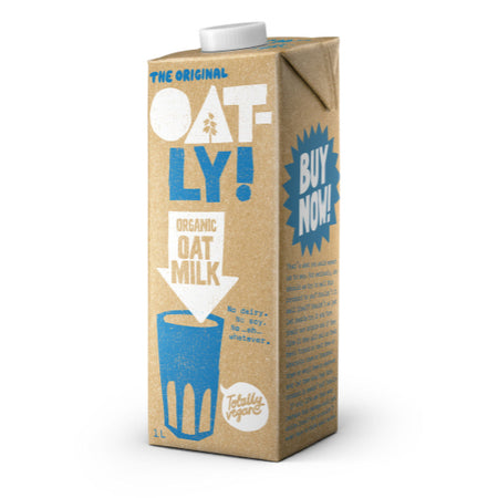 Oatly Organic Oat Milk 1lt
